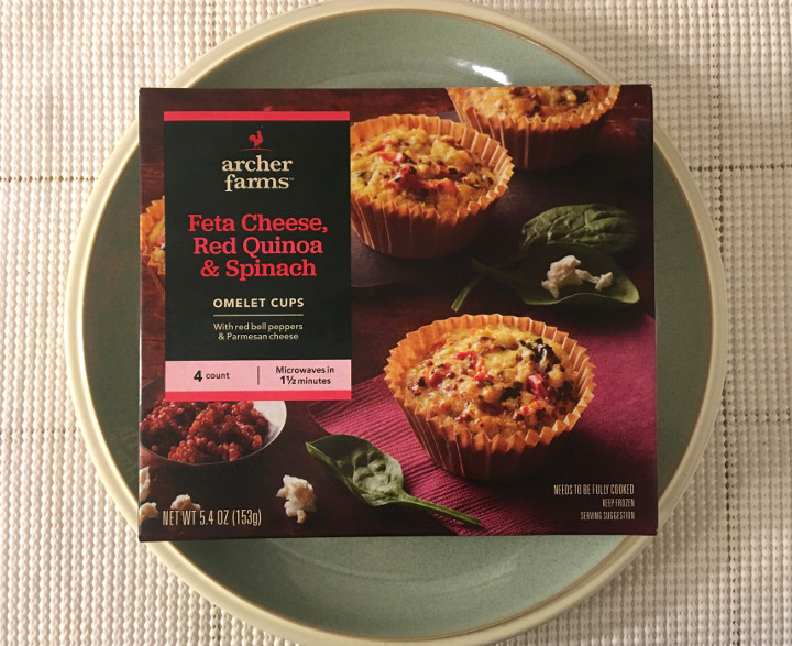 Archer Farms Feta Cheese, Red Quinoa & Spinach Omelette Cups
