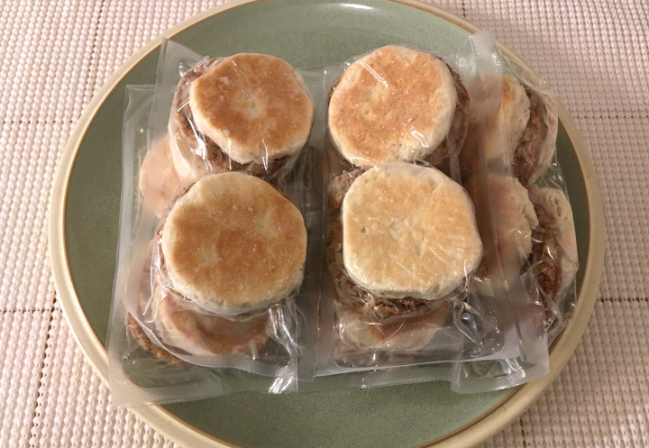 Jimmy Dean Sausage Biscuit Snack Size Sandwiches
