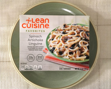 Lean Cuisine Favorites Spinach Artichoke Linguine