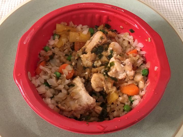 Smart Made Chicken Fried Cauliflower Rice Bowl
