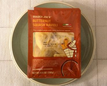 Trader Joe's Butternut Squash Ravioli Review