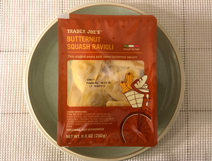 Trader Joe's Butternut Squash Ravioli