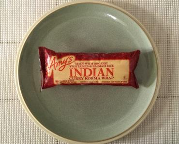 Amy's Indian Curry Korma Wrap