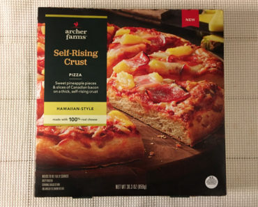 Archer Farms Hawaiian-Style Self-Rising Crust Pizza Review