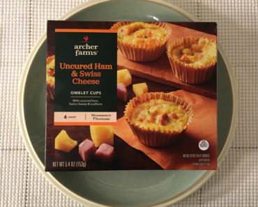 Archer Farms Uncured Ham & Swiss Cheese Omelette Cups Review
