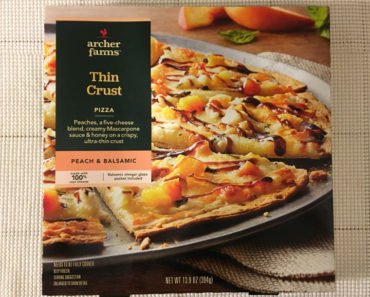 Archer Farms Peach & Balsamic Thin Crust Pizza