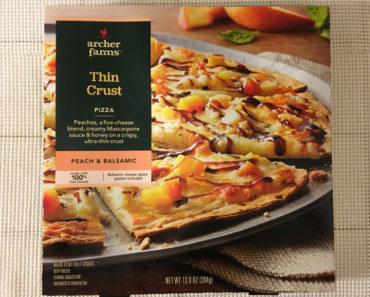 Archer Farms Peach & Balsamic Thin Crust Pizza Review