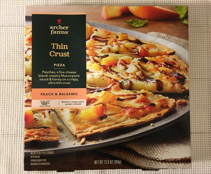 Archer Farms Peach & Balsamic Thin Crust Pizza