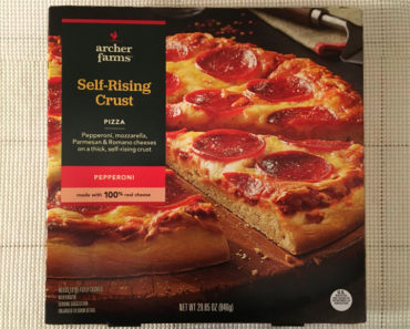 Archer Farms Pepperoni Self-Rising Crust Pizza Review