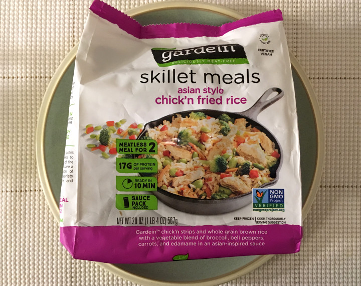 Gardein Asian Style Chik'n Fried Rice Skillet Meal