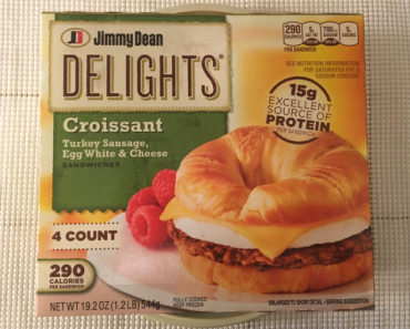 Jimmy Dean Delights – Turkey Sausage, Egg White & Cheese Croissant Breakfast Sandwiches