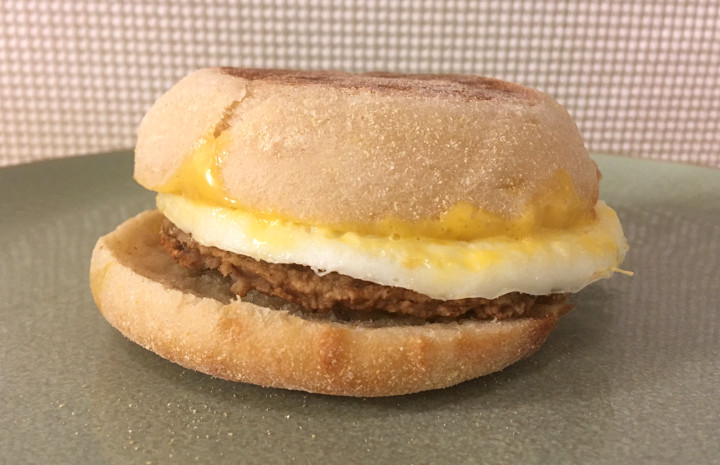 Jimmy Dean Turkey Sausage, Egg White & Cheese English Muffin Breakfast Sandwiches