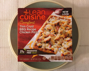 Lean Cuisine Comfort Thin Crust BBQ Recipe Chicken Pizza