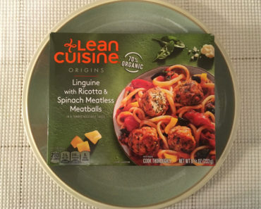 Lean Cuisine Origins Linguine with Ricotta & Spinach Meatless Meatballs