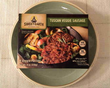 Sweet Earth Tuscan Veggie Sausage