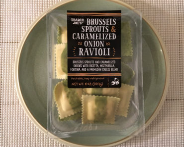 Trader Joe's Brussels Sprouts & Caramelized Onion Ravioli Review