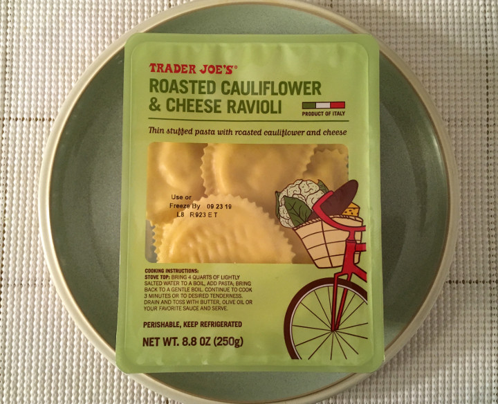 Trader Joe's Roasted Cauliflower & Cheese Ravioli