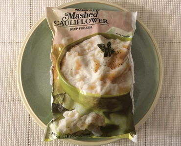 Trader Joe's Mashed Cauliflower