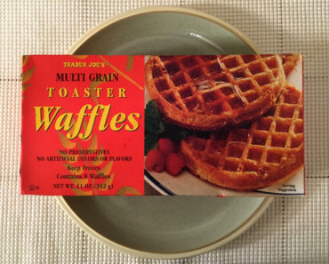 Trader Joe's Multi Grain Toaster Waffles