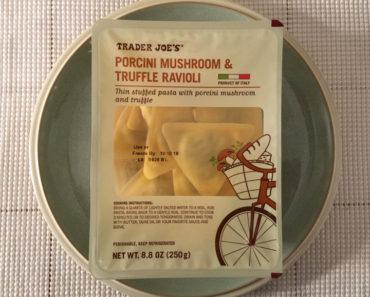Trader Joe's Porcini Mushroom & Truffle Ravioli