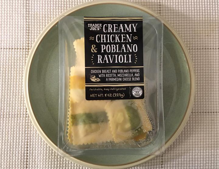 Trader Joe's Creamy Chicken & Poblano Ravioli