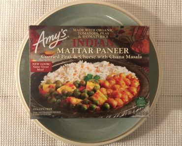 Amy's Indian Mattar Paneer Curried Peas & Cheese with Chana Masala