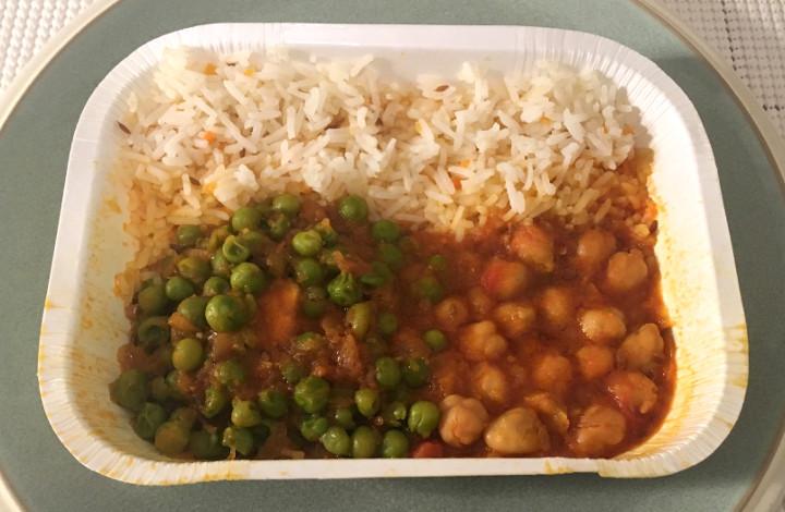 Amy's Indian Mattar Paneer Curried Peas & Cheese with Chana Masala