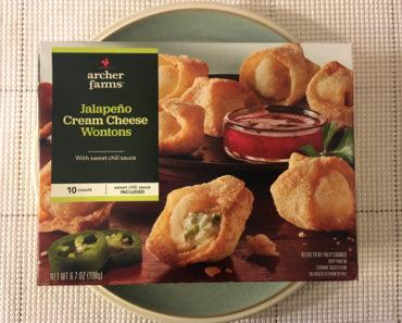 Archer Farms Jalapeño Cream Cheese Wontons Review
