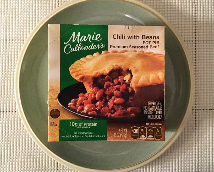 Marie Callender's Chili with Beans Pot Pie