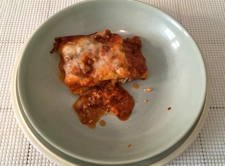 Trader Joe's Family Style Meat Lasagna