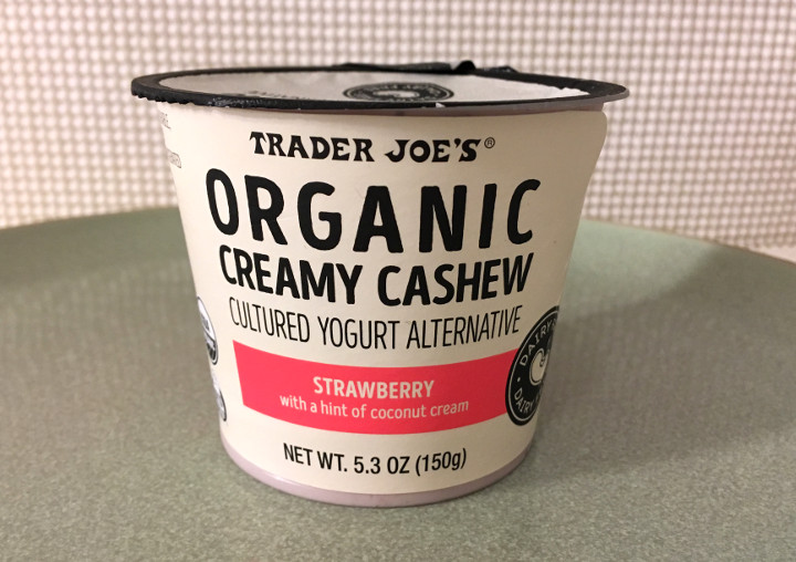 Trader Joe's Strawberry Creamy Cashew Cultured Yogurt Alternative