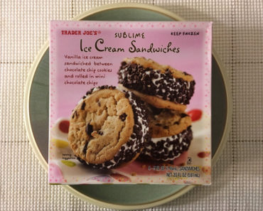 Trader Joe's Sublime Ice Cream Sandwiches Review