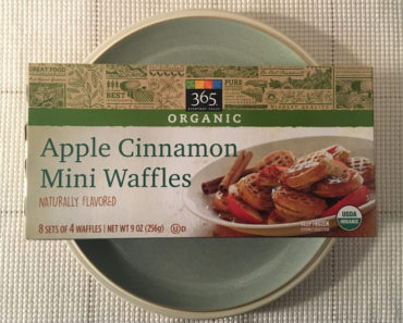 365 Everyday Value Apple Cinnamon Mini Waffles