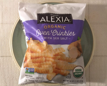 Alexia Organic Oven Crinkles with Sea Salt Review