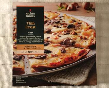 Archer Farms Thin Crust Mushroom & Truffle Oil Pizza Review
