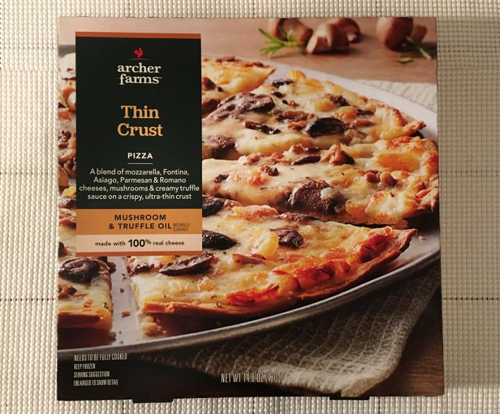 Archer Farms Thin Crust Mushroom & Truffle Oil Pizza