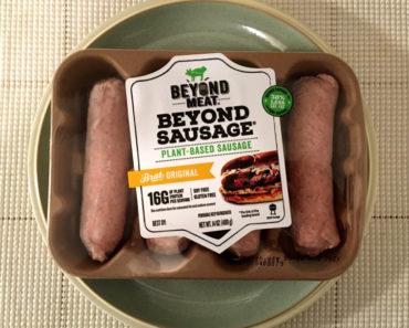 Beyond Meat Beyond Sausage  Brat Original Review