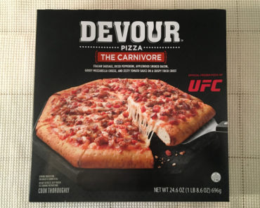 "Devour ""The Carnivore"" Pizza"
