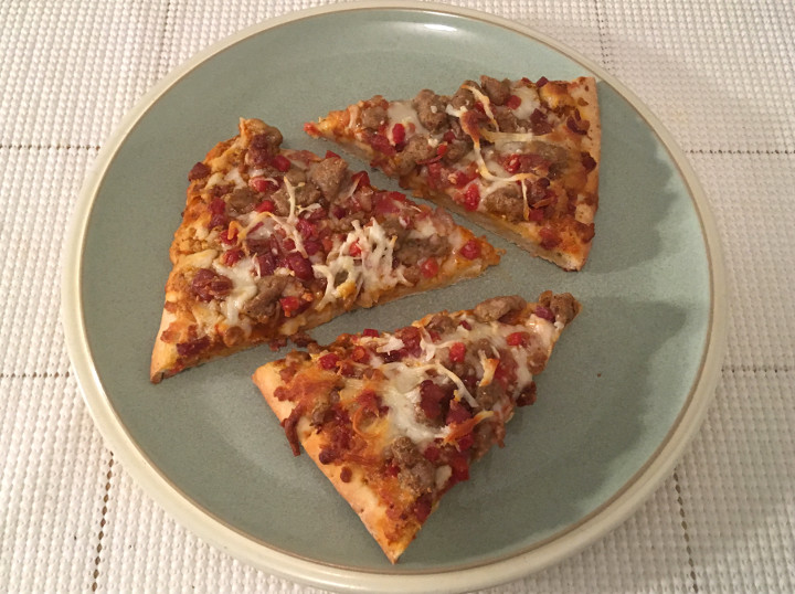 """Devour """"The Carnivore"""" Pizza"""