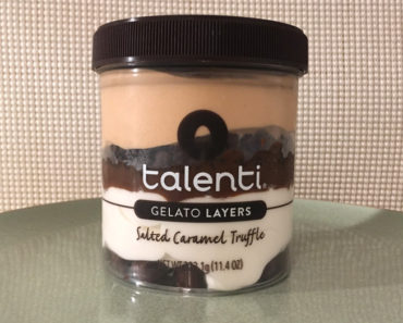Talenti Salted Caramel Truffle Gelato Layers