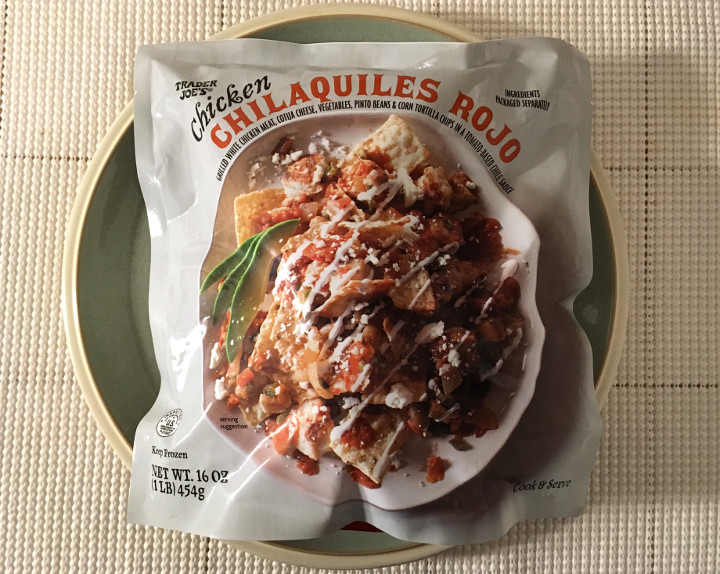 Trader Joe's Chicken Chilaquiles Rojo