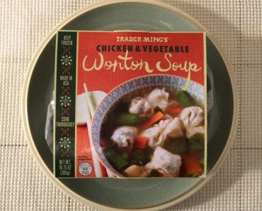 Trader Joe's Chicken & Vegetable Wonton Soup