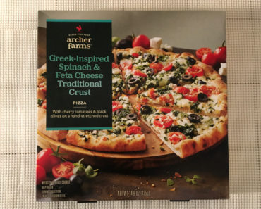 Archer Farms Greek-Inspired Spinach & Feta Cheese Traditional Crust Pizza Review