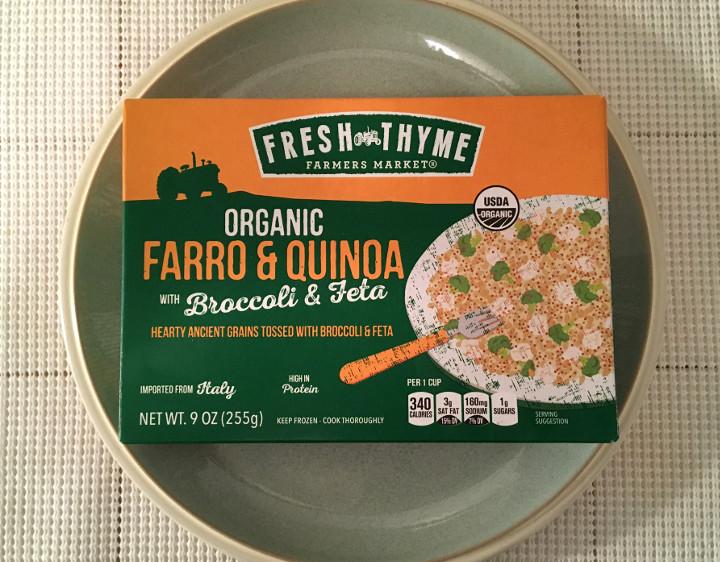 Fresh Thyme Organic Farro & Quinoa with Broccoli & Feta