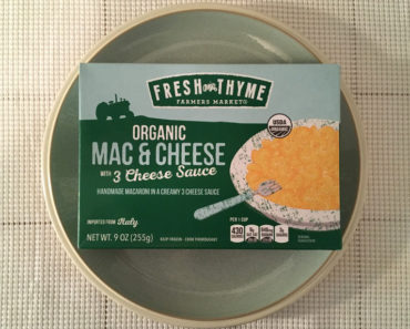 Fresh Thyme Organic Mac & Cheese with 3 Cheese Sauce
