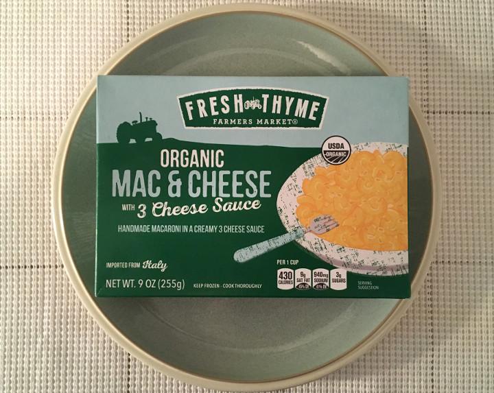 Fresh Thyme Organic Mac & Cheese with 3 Cheese Sauce
