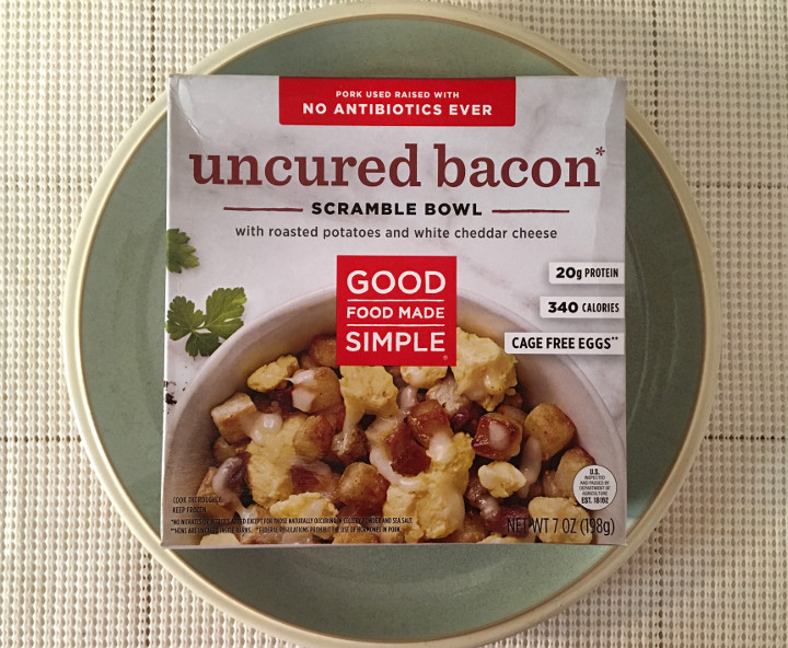Good Food Made Simple Uncured Bacon Scramble Bowl