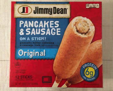 Jimmy Dean Pancakes & Sausage on a Stick!