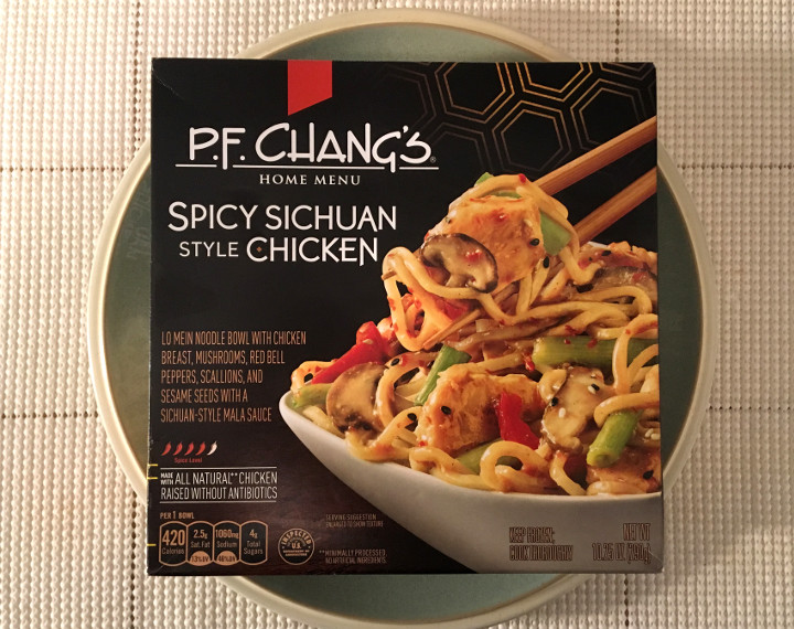 Pf Chang S Home Menu Spicy Sichuan Style Chicken Review Freezer Meal Frenzy