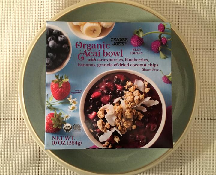 Trader Joe's Organic Açaí Bowl